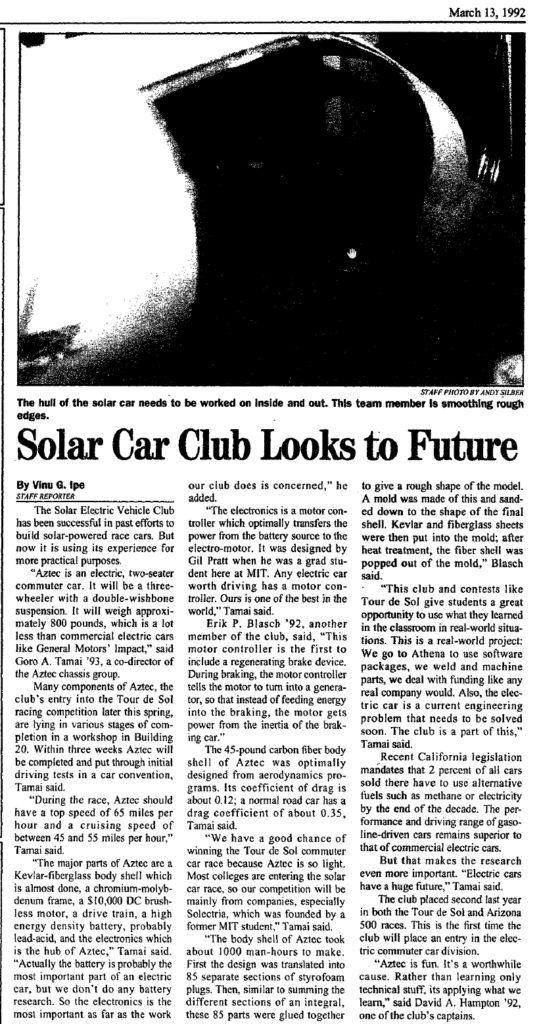 Tech March-13-1992