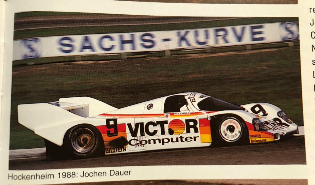 Porsche 962C - Hockenheim April 29th 1988