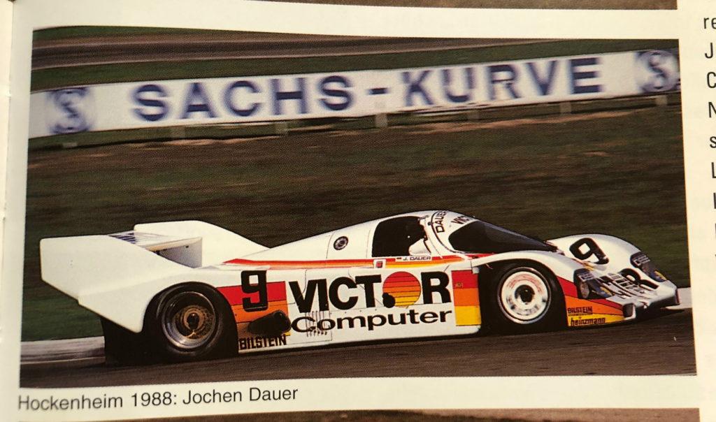 Porsche 962C - Hockenheim April 29th 1988